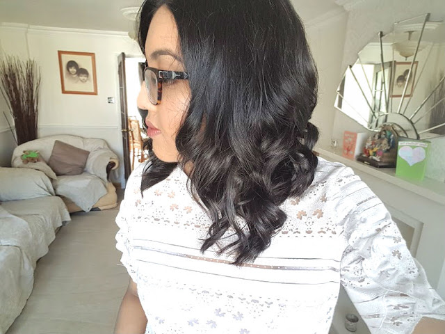 midi length hair