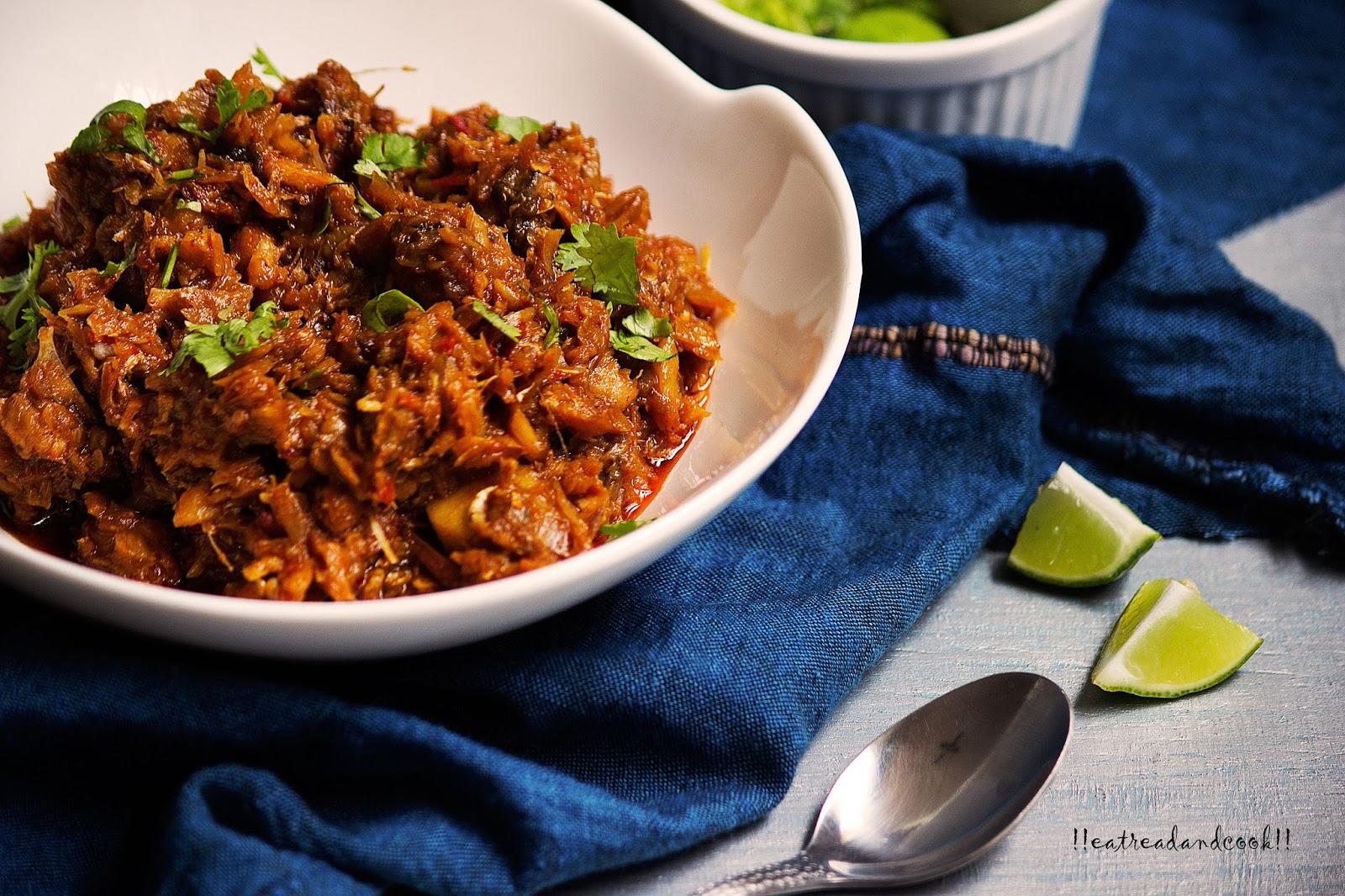Macher Jhuri / Bengali Crumbled Fish Curry | Eat Read & Cook