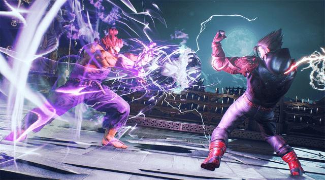 Penjualan game Tekken sangat tinggi dibandingkan dengan Street Fighter