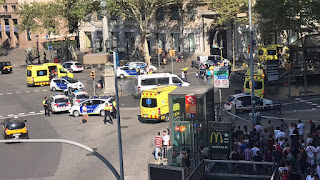 Barcelona terror attack: Van Plows Into Crowd On Famous Las Ramblas