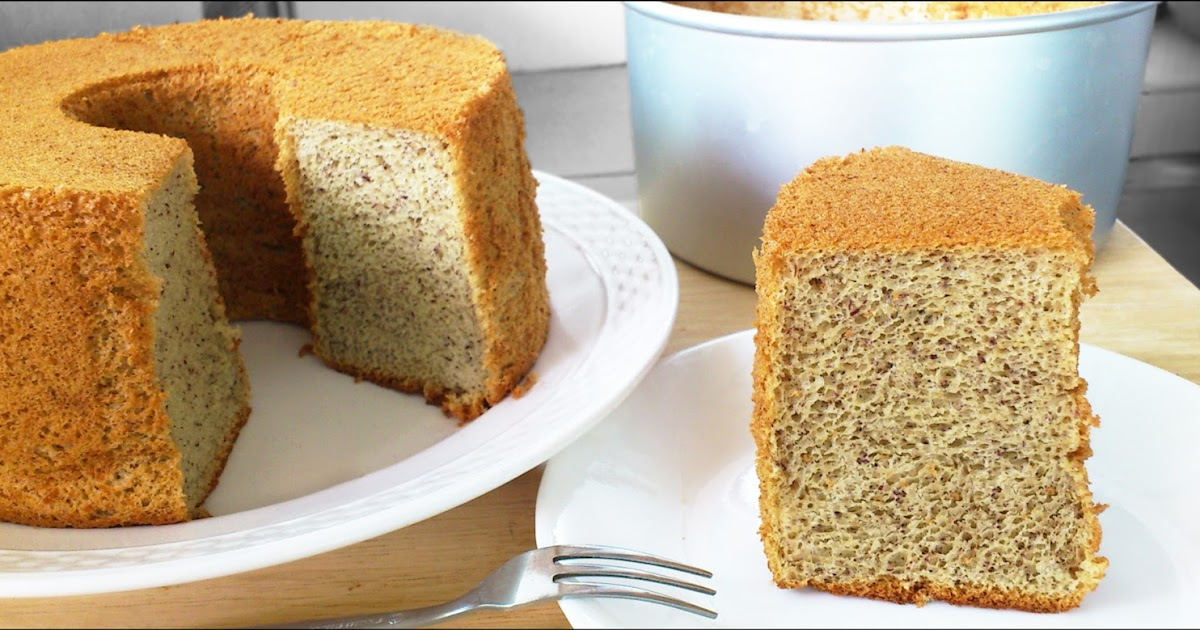 Kitchentigress Banana Chiffon Cake