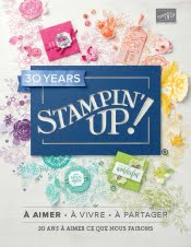 Le nouveau catalogue Stampin'Up !