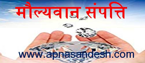 मौल्यवान संपत्ति - Maulyvaan Sampati