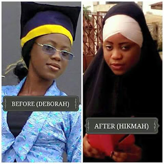 Lady share reasons for converting from christianity to islam