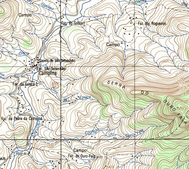 Navegação Manual: Conhecendo a Carta Topográfica - Parte 2/2