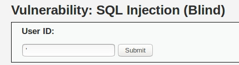Whitelist: SQL Injection - Blind (III): Boolean based attacks