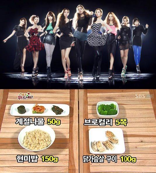 Rahasia Langsing Sehat ala Girls Generation (SNSD)