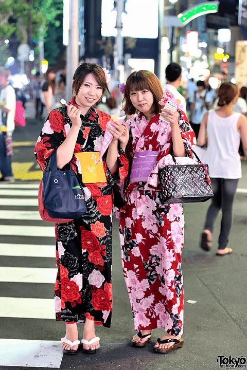 yukata beda dengan kimono