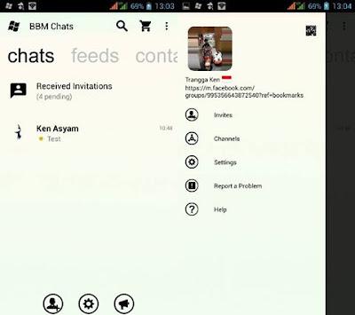BBM Mod WP Monocrome v2.13.1.14 APk Gratis