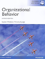 Judul Buku : Organizational Behavior Sixteenth Edition – Global Edition