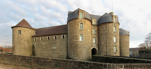The medieval Castle of Boulogne France