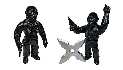 Master of Weapons Gerald Okamura Ninja Black Edition Vinyl Figure by Max Toy Company