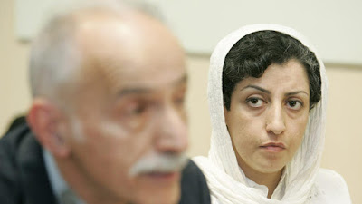 Iranian human rights and anti-death penalty lawyer Narges Mohammadi