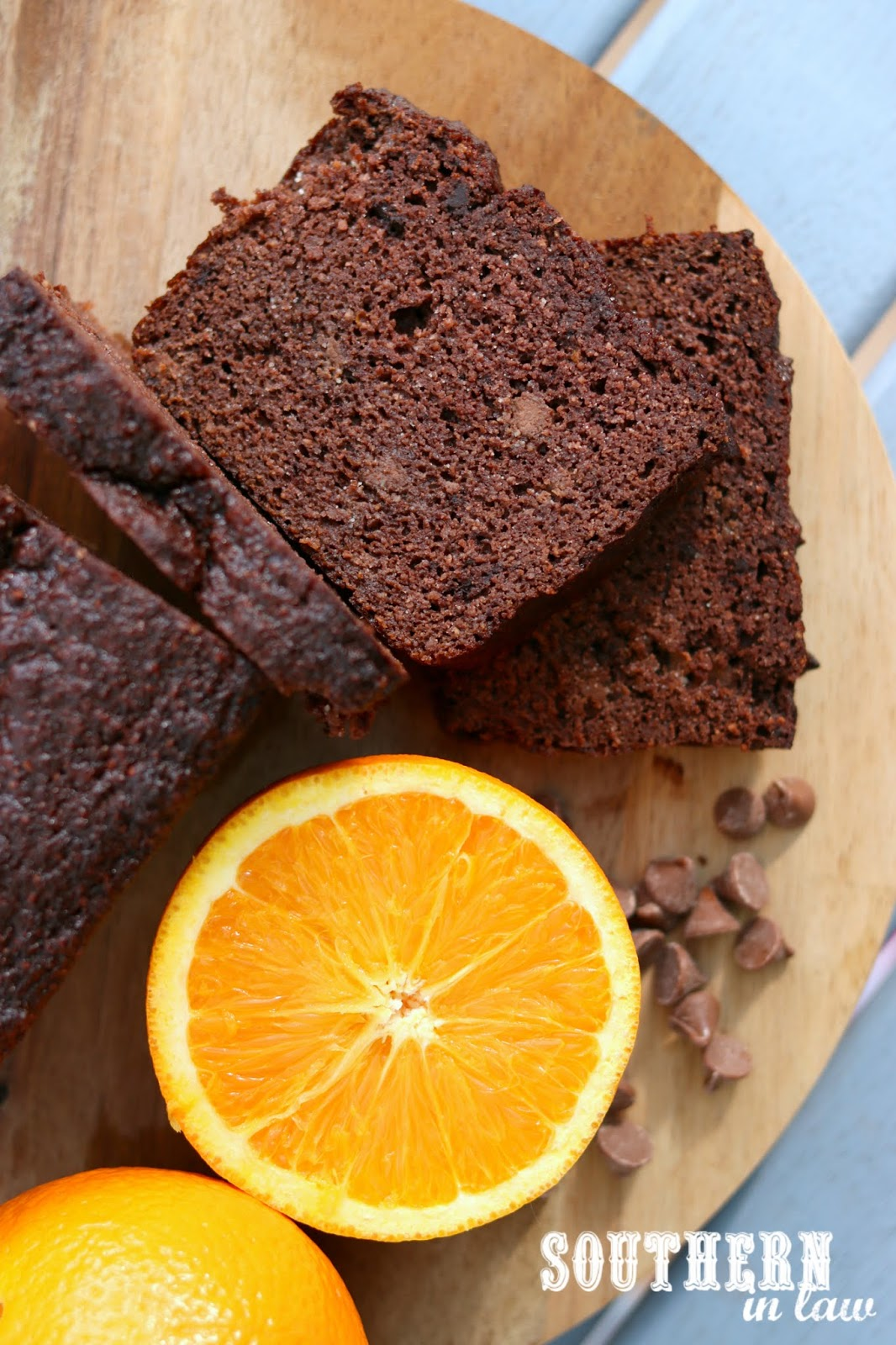 Southern In Law Recipe Healthy Paleo Chocolate Orange Loaf