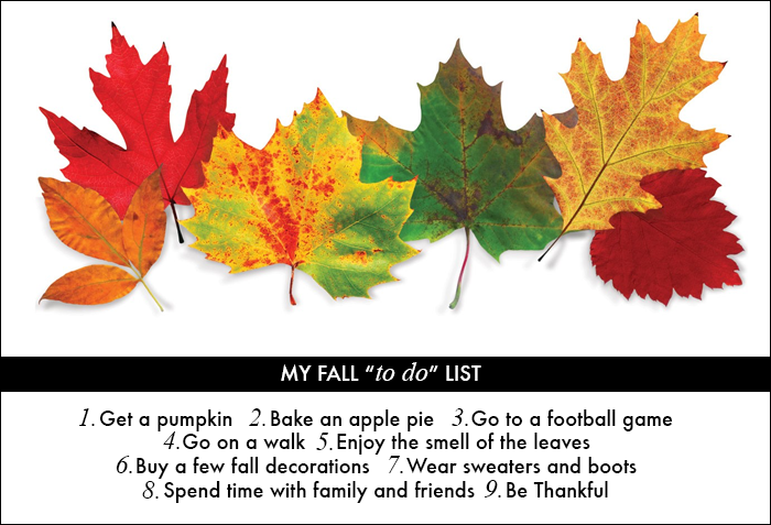 fall, leaves, pumpkins, apple pies, what to do