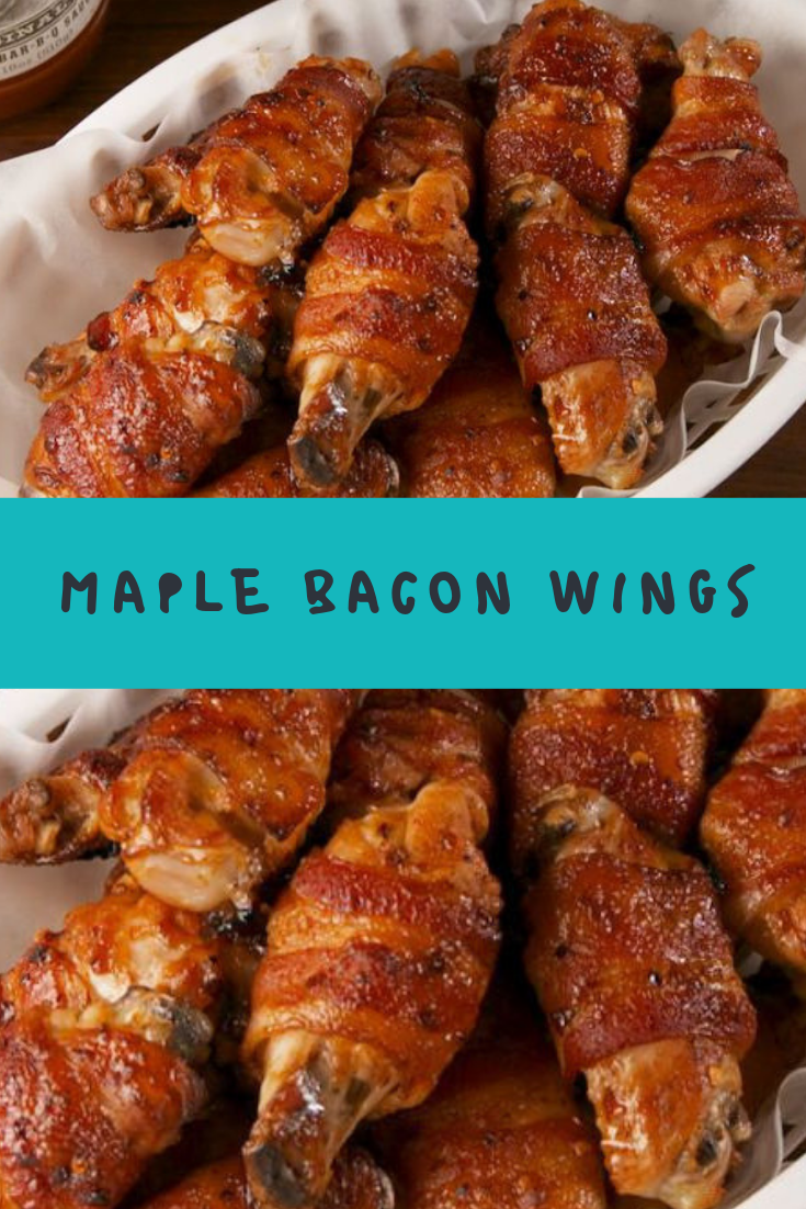 Maple Bacon Wings Recipe