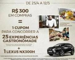 Promoção Shopping Vila Olímpia Dia das Mães 2019 Concorra Lexus NX300H Luxury