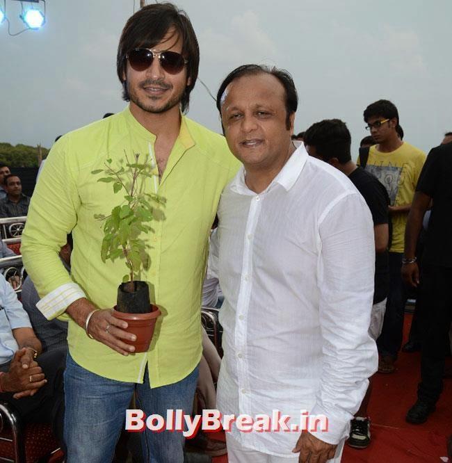Vivek Oberoi and ASif Bhamla, Dia & Ruby Bhatia at World Environment Day Celebrations 2014