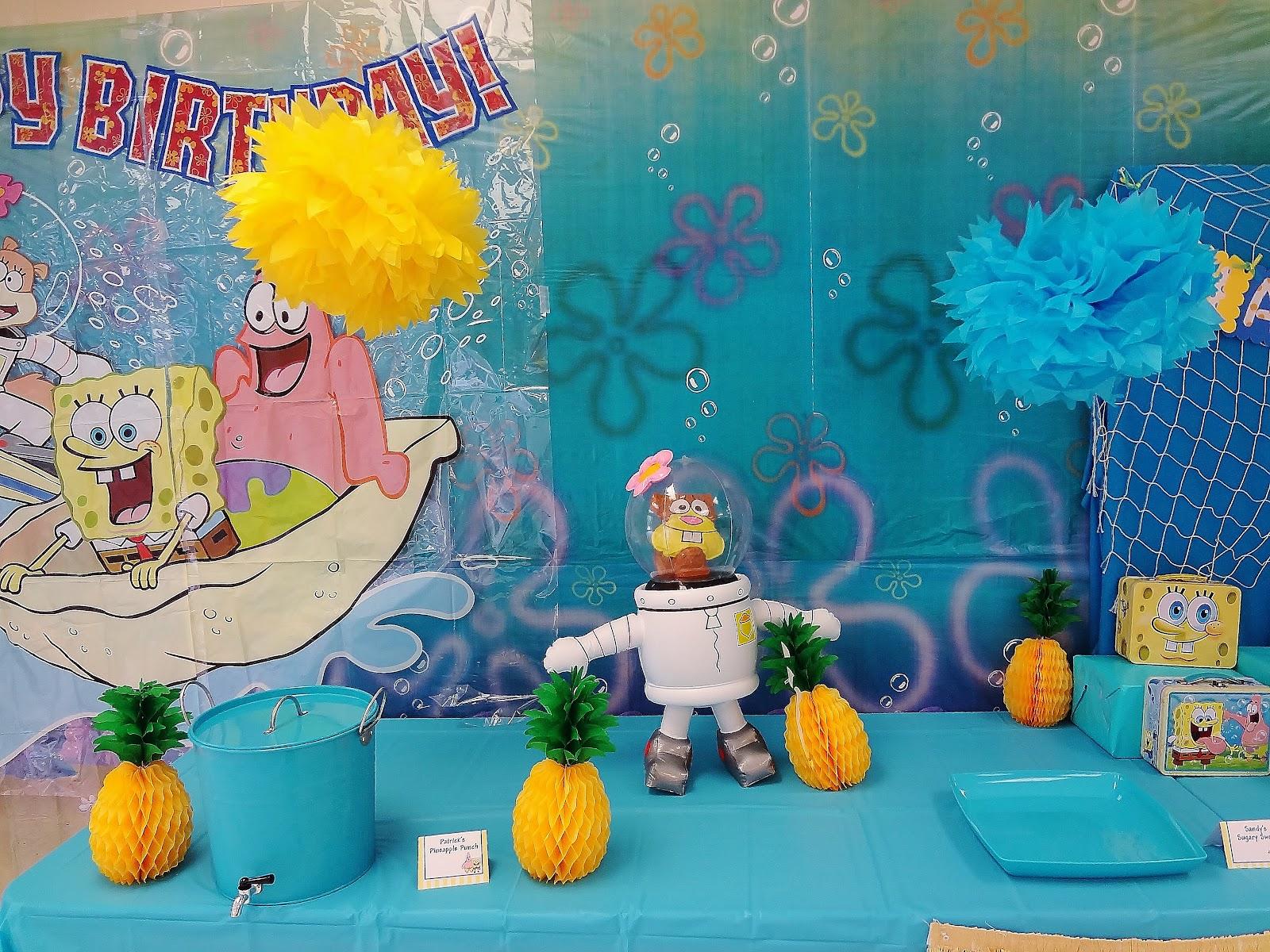 Birthday Birthday Party Ideas: Karo's Fun Land: {Party Feature} SpongeBob Birthday Party