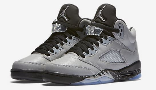 low priced 2740e afd52 Air Jordan 5 Retro  Wolf Grey  GS Sneaker (Images + Release Info)