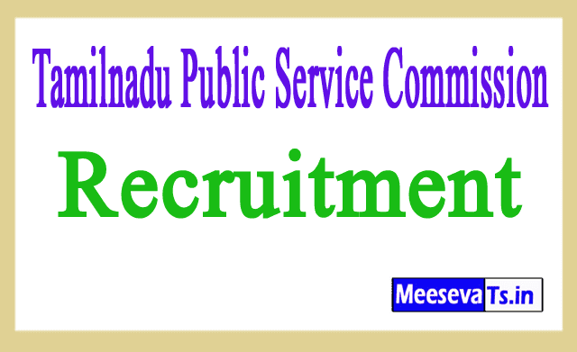 Tamilnadu Public Service Commission TNPSC Recruitment