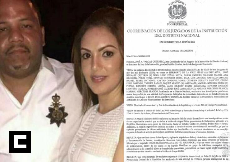"""Revelan orden de arresto contra Marisol Franco, esposa de """"César El Abusador"""""""