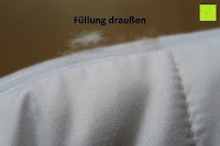 Füllung draußen: GOLD STERN Medicate Allergiker Kopfkissen 40x80 cm, waschbar 95 Grad