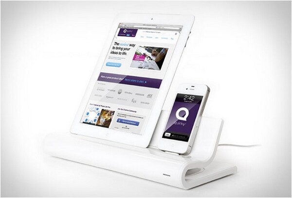 converge docking station for ipad and iphone bonjourlife. Black Bedroom Furniture Sets. Home Design Ideas