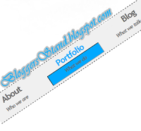 Add Sub Text Style CSS3 With Hover Effect Navigation Menu Bar