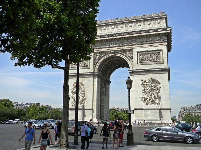 atrakcje Paryża, Francja