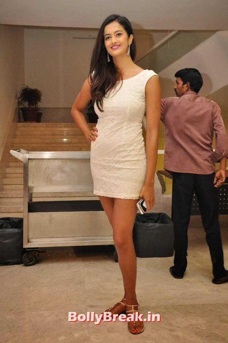 High Quality Shubra Aiyappa Pics, Shubra Aiyappa hot Figure Hd Pics in White Dress