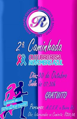 ACER realiza caminhada em prol do Outubro Rosa e Novembro Azul em Registro-SP