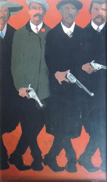 Pablo Mañé arte latinoamericano pintura surrealista hombres y armas