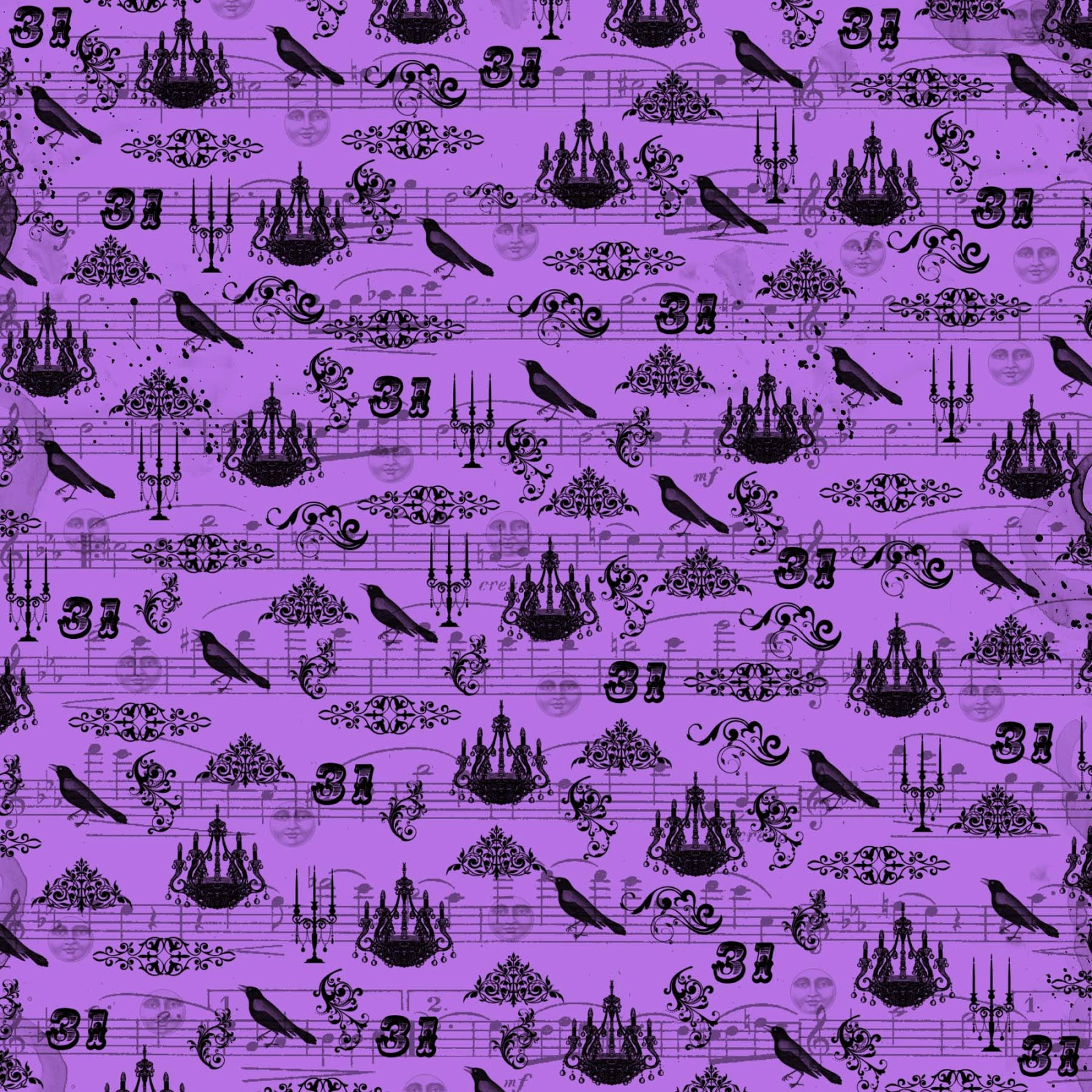 It's just an image of Inventive Purple Scrapbooking Paper