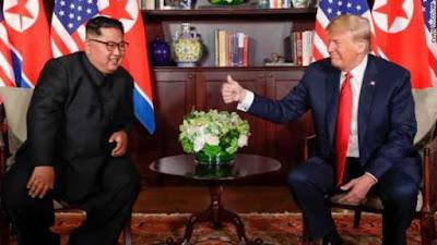 Donald Trump Met With Kim Jong Un