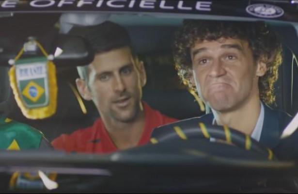 Peugeot une a Kuerten y Djokovic para Roland Garros