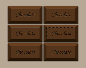 CSS3 Chocolate Button