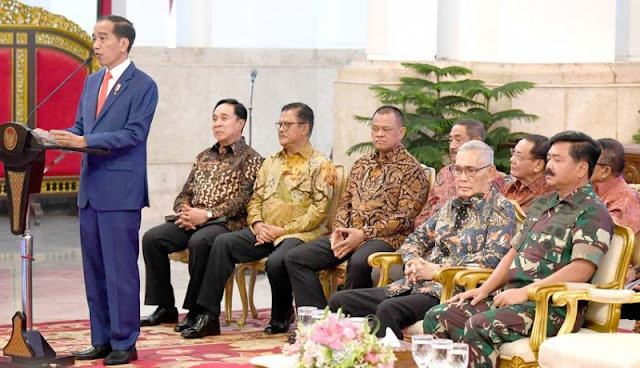 Penuhi Undangan Jokowi ke Istana, Gatot Nurmantyo Bilang Begini
