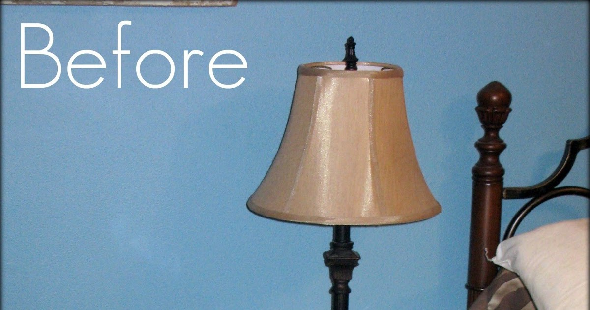 Tattered And Inked Easy 10 Minute Lamp Makeover