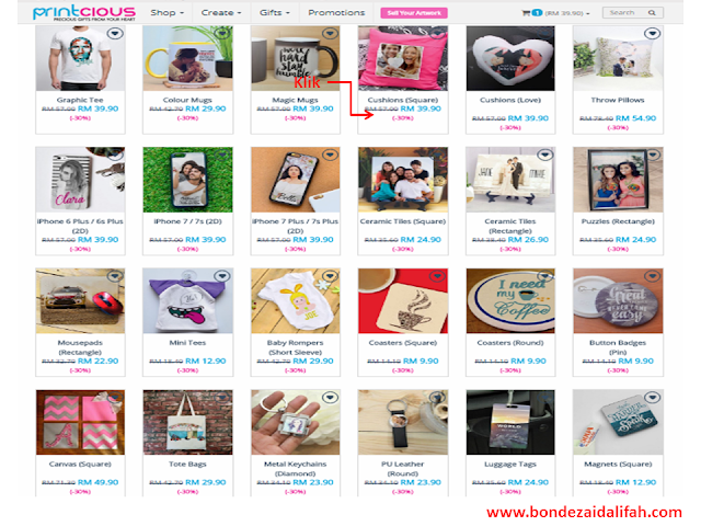 printcious.com, Personalized Gifts