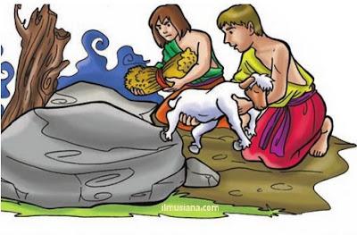 Qabil dan Habil putra nabi Adam