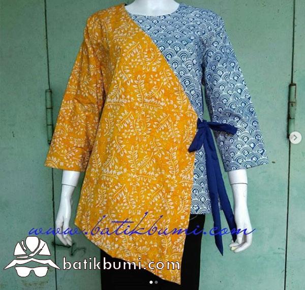 Kimono Batik Cap Smoke