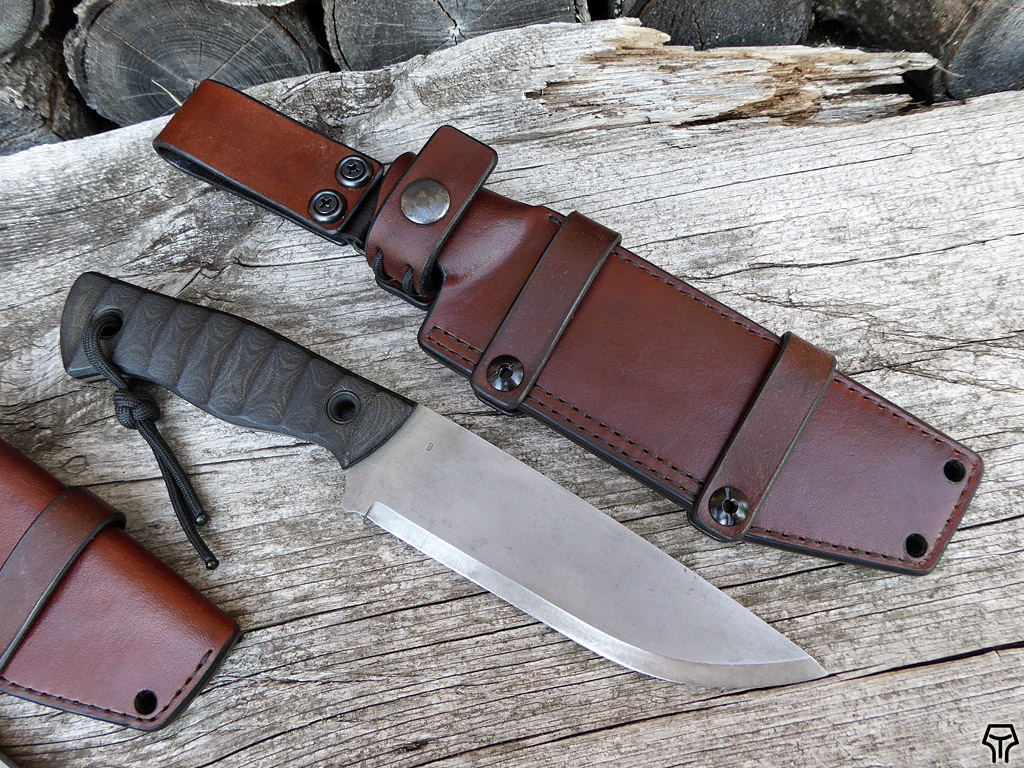 knives with sheaths andrzej woronowski custom knives set of leather sheaths