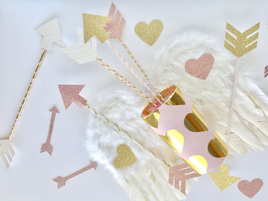 Follow Your Heart Valentine's Day Cupid Arrows and Quiver