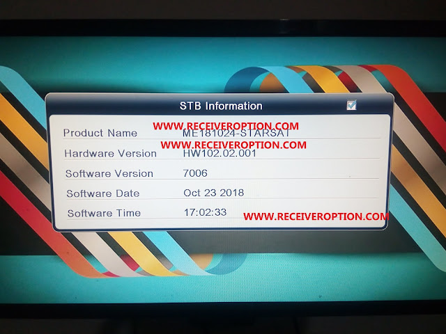 ALI3510C HARDWARE VERSION HW102.02.001 POWERVU KEY NEW SOFTWARE BY USB
