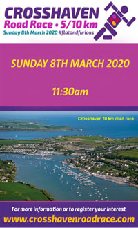 Flat & Fast Scenic 5k & 10k in Cork Harbour - Sun 8th Mar 2019