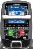 Nautilus E618  STN blue backlit console, image