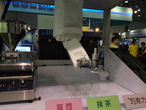 上銀煎餅機器人