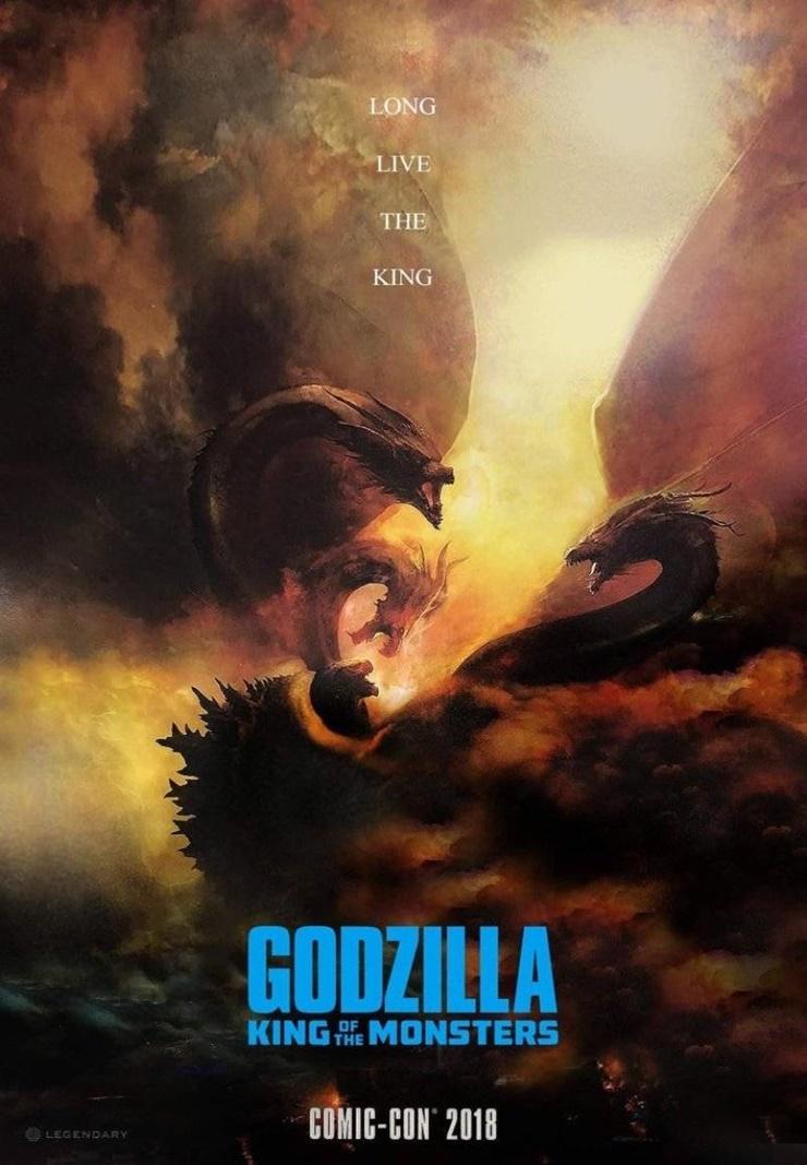 Godzilla, o rei dos monstros SDCC