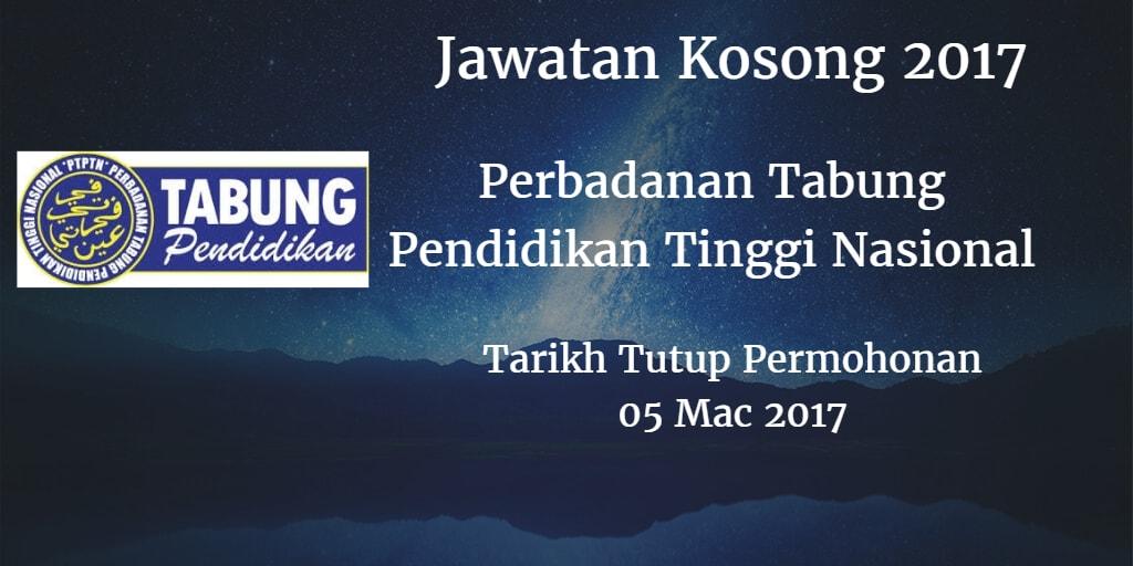 Jawatan Kosong PTPTN 05 Mac 2017